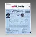 "Butterfly "" Folia Chack Sheet """